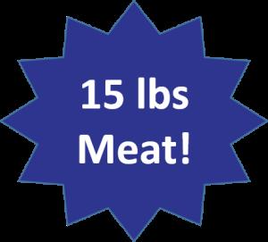 15 lbs