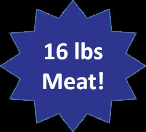 16 lbs