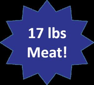 17 lbs